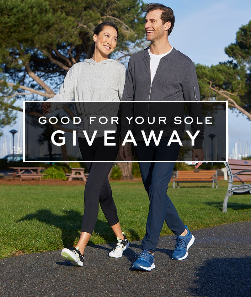Good For Your Sole Giveaway