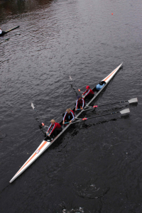 Rowing is health & fitness editor Peg Moline's favorite activity for staying fit