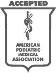Accepted by American Podiatric Medical Association