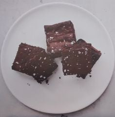 Healthy brownies from Dr. Weil's new cookbook Fast Food, Good Food