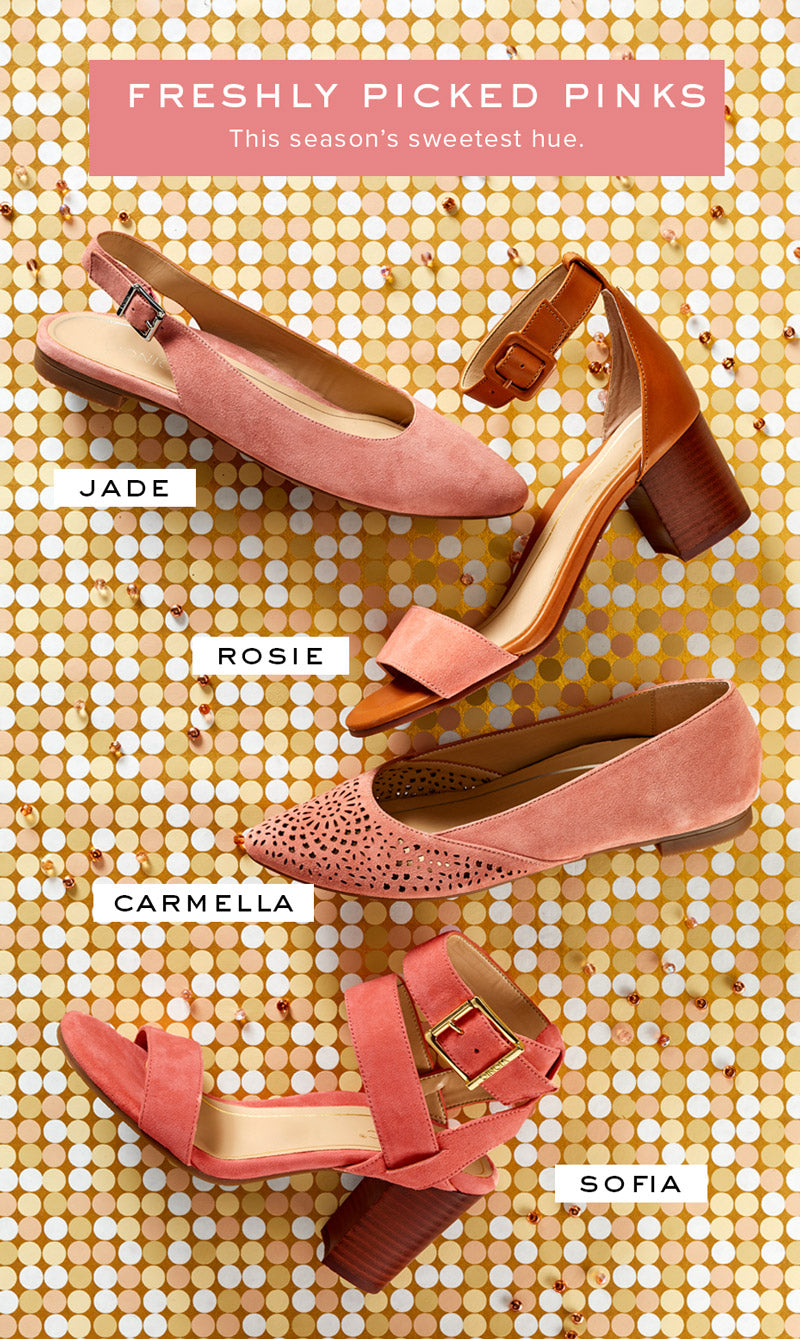 Women's spring heels and wedges collection