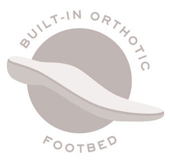 Built-in Orthotic Footbed