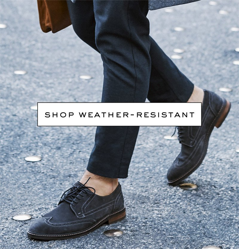 View Mens's weather-resistant shoes