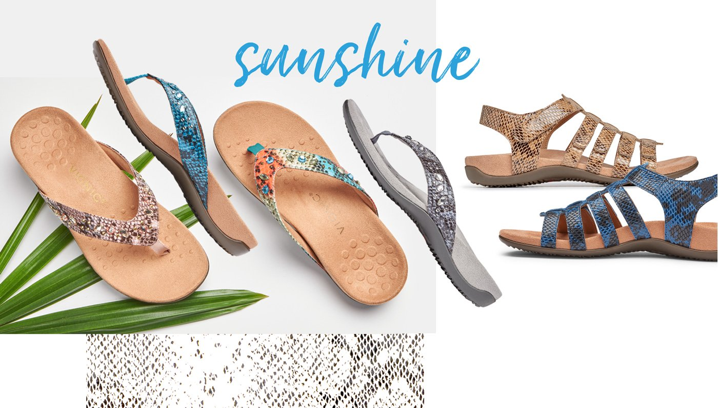 Vionic Snake Sandals Collection