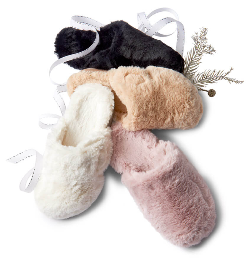 View plush slipper collection
