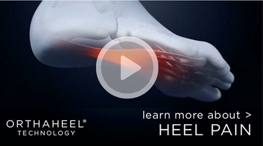 Learn more about heel pain - play video