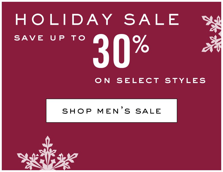 View Mens Holiday Sale