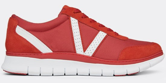 View Men's red Ansel sneakers