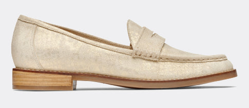 View Waverly Light Gold Loafer