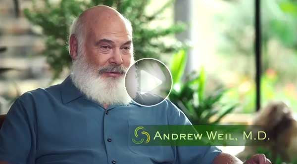 Dr. Weil explains the importance of walking