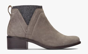 Shop Joslyn Ankle Boot in Charcoal