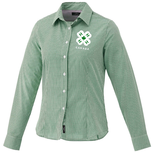 QUINLAN FULL BUTTON SHIRT - LADIES