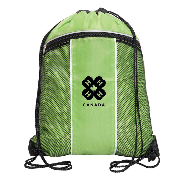 4-H DRAWSTRING CINCH BACK PACK