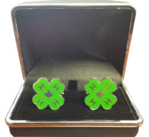Green Cuff Links