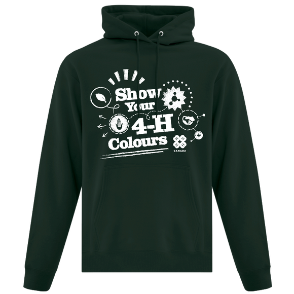 2019 Show Your 4-H Colours Hoodie