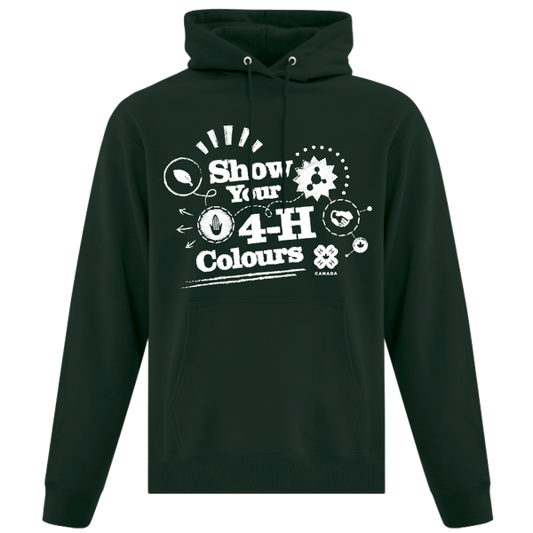 2019 Exclusive Show Your 4-H Colours Hoodie