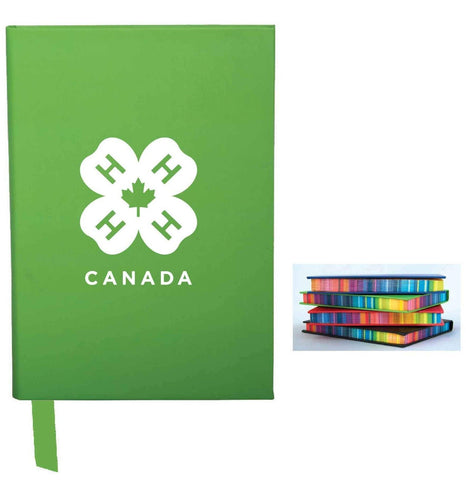 4-H COLOUR-EDGE NOTEBOOK