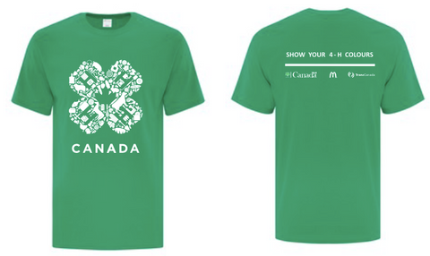 SHOW YOUR 4-H COLOURS - YOUTH T-SHIRT