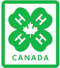 4-H Logo Embroidered Crest