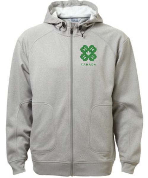 4-H MEN'S HOODED JACKET