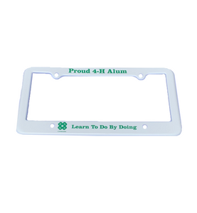 Proud Alum License Plate Frame