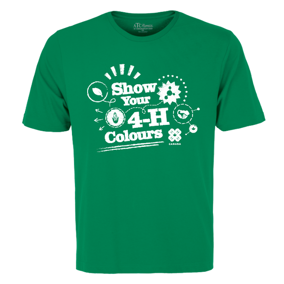 2019 Show Your 4-H Colours T-Shirt