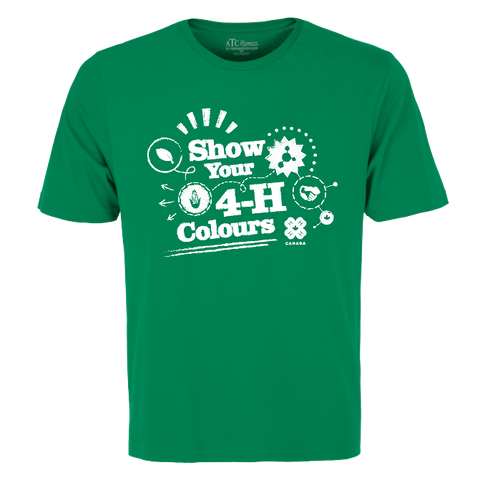 2019 Exclusive Show Your 4-H Colours T-Shirt