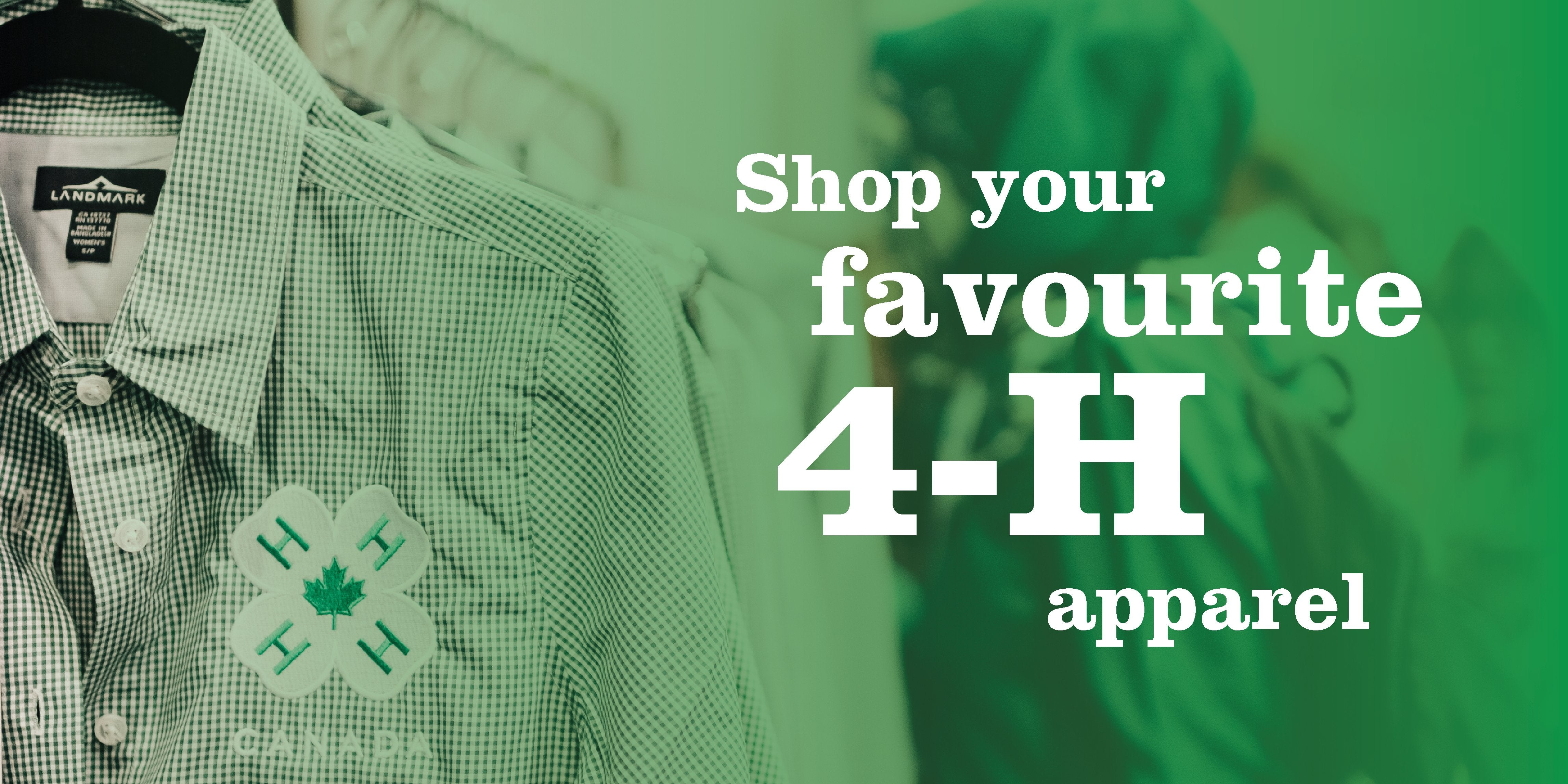 Show Your 4-H Colours merchandise is here!