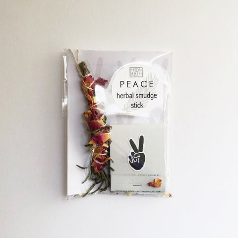Herbal Smudge Stick: Peace