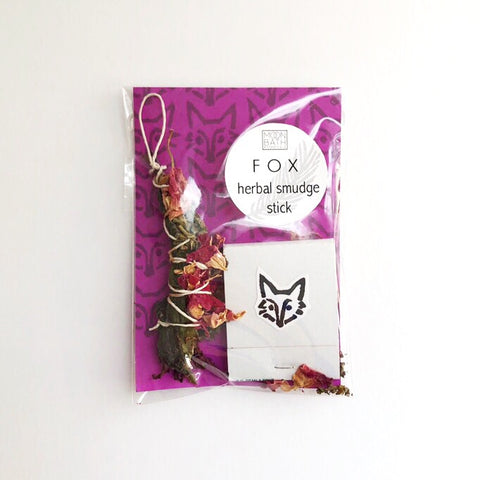 Herbal Smudge Stick: Fox