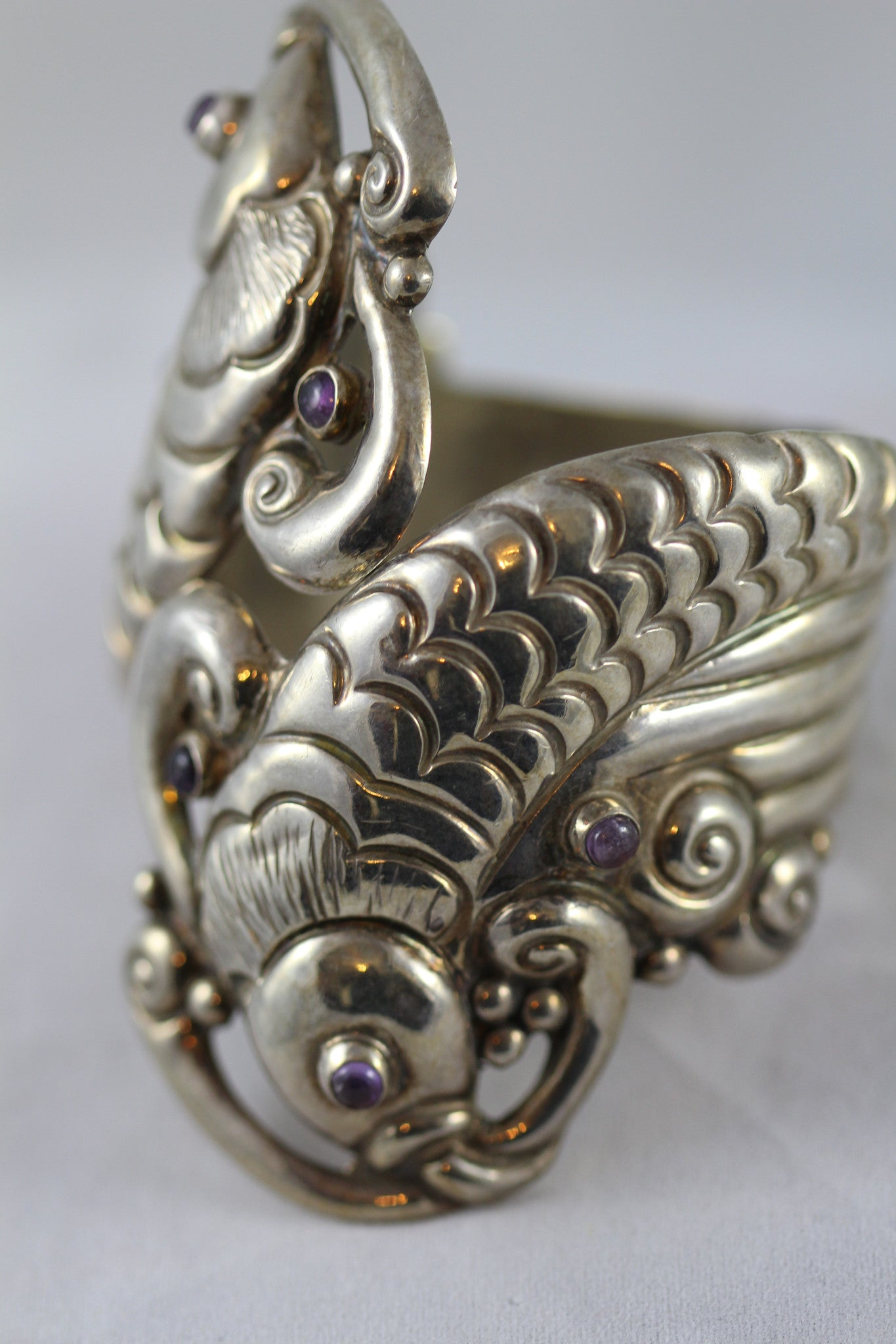 Mexico Fish Wrist Clamp Bracelet