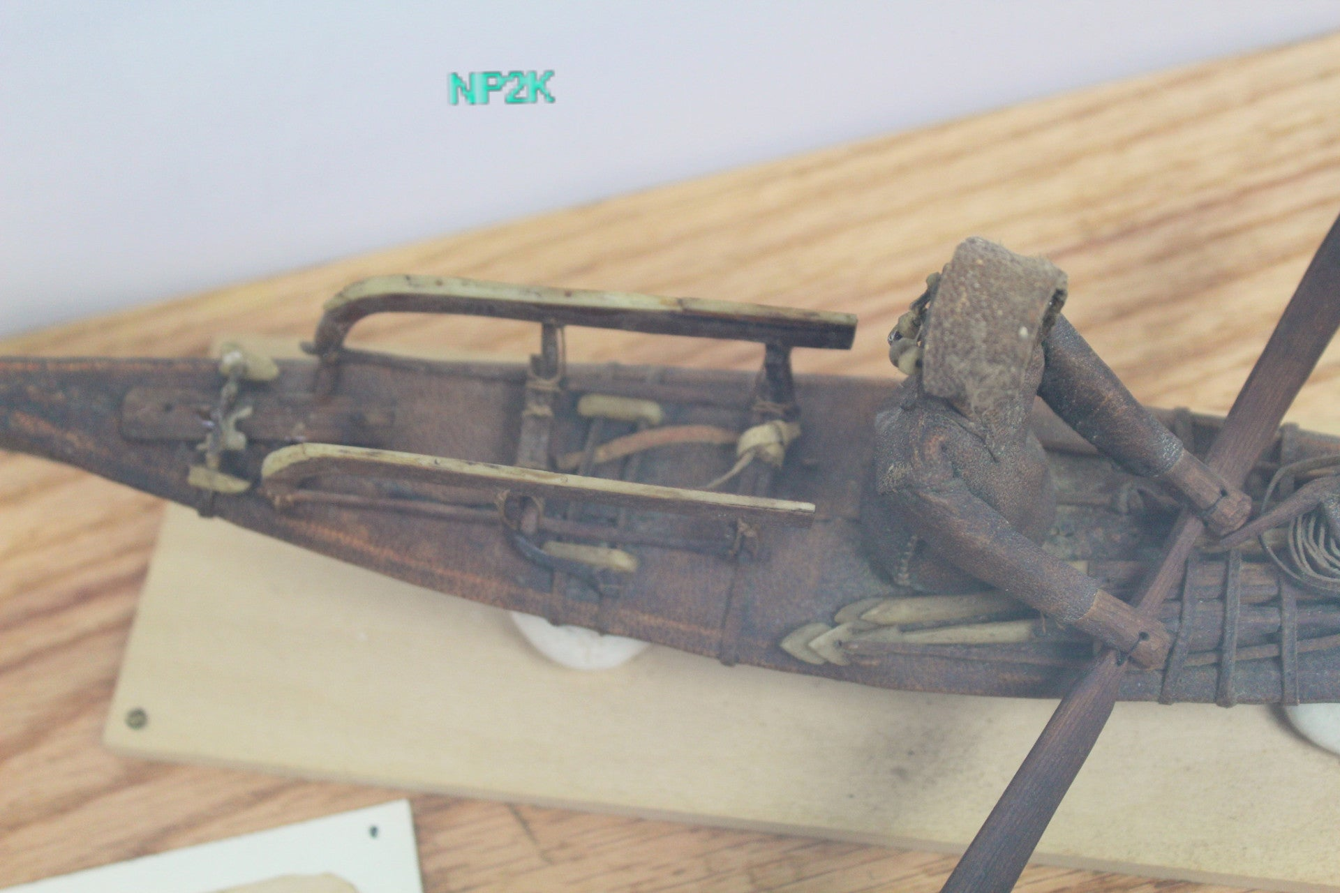 Early Inuit Kayak Toy