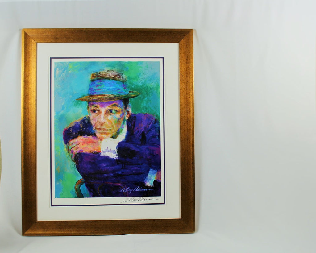 "Leroy Neiman Signed Lithograph,"" Frank Sinatra"""