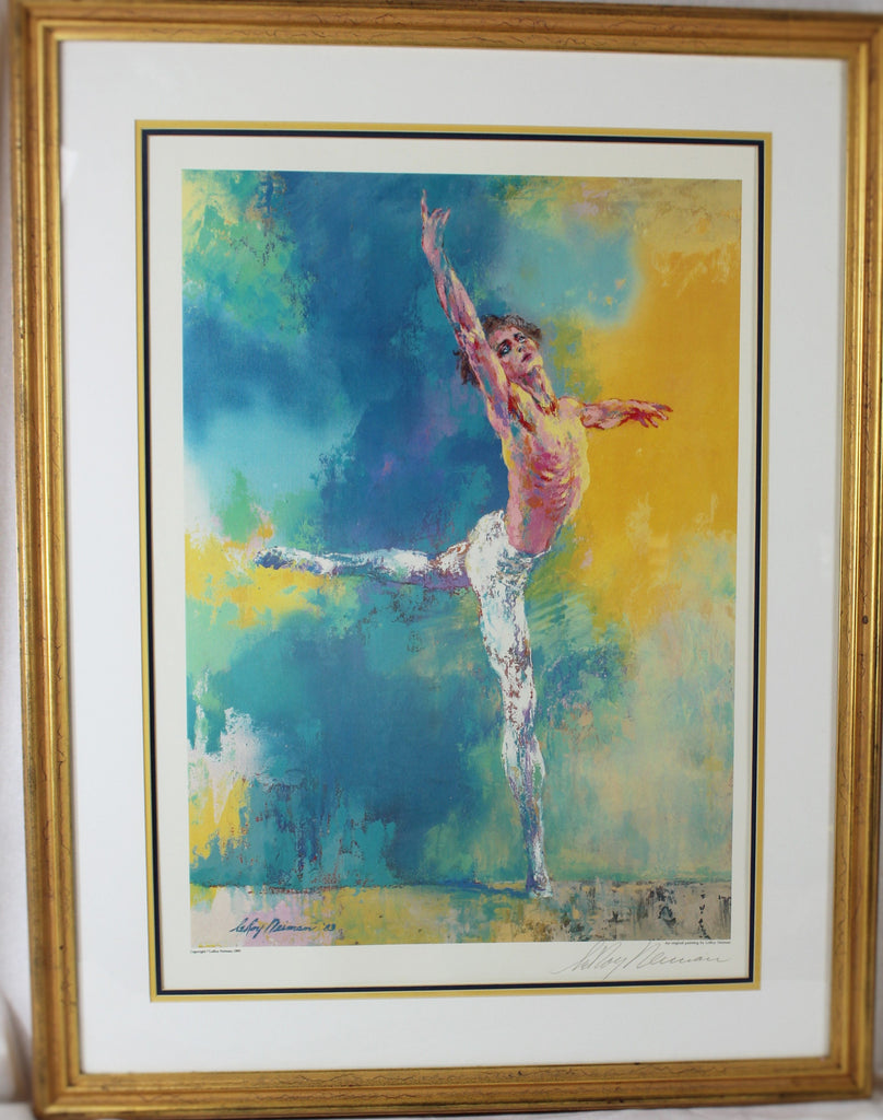 "Leroy Neiman signed in pencil print, ""Buryshnikov"" 1983"
