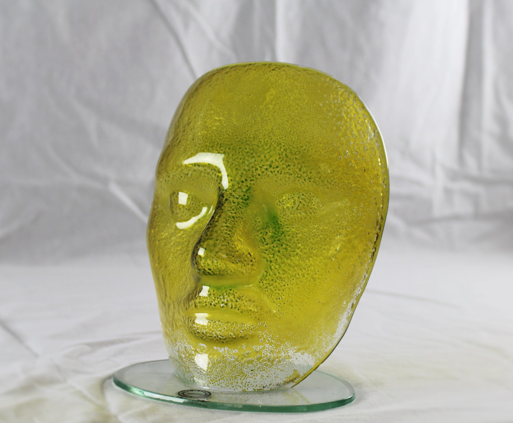 Glass Mask Made by Justyma in Poland SOLD