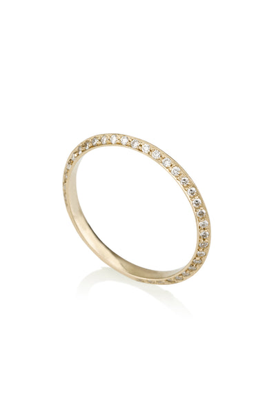 Lia knife edge eternity ring 25% off FINAL SALE