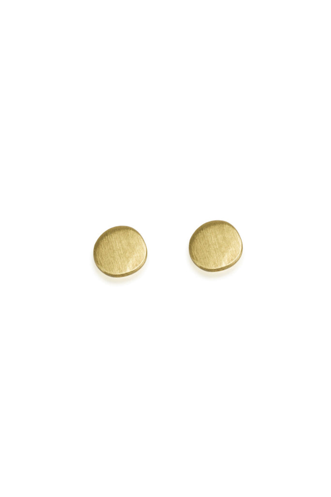 Dot Earrings / Solid 14K Gold 15% off FINAL SALE