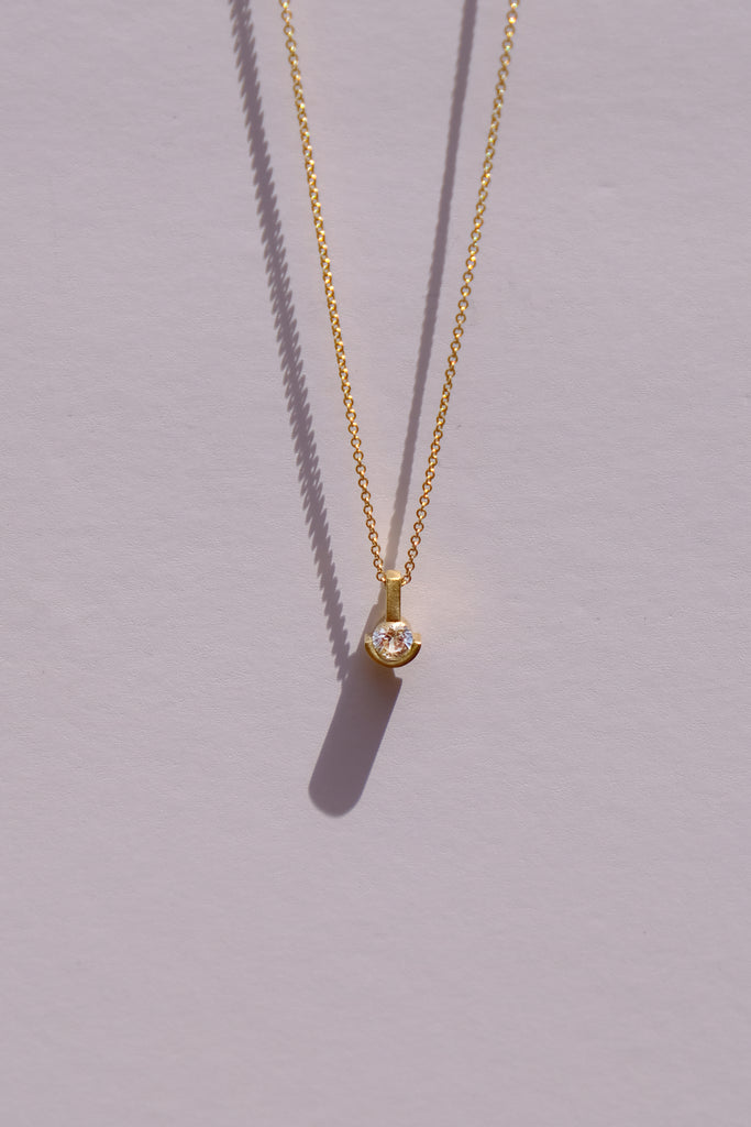 Alex solitaire diamond necklace