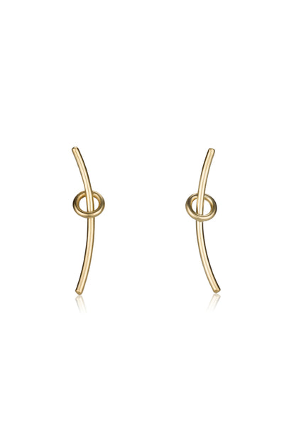 Alison earrings / gold
