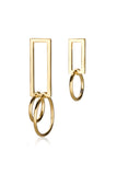 Bobbi Earrings / gold plated silver
