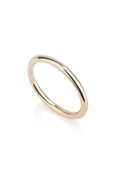 Harper Ring round wedding band