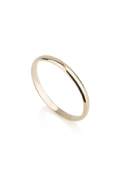 Noel Ring 2 mm half round band