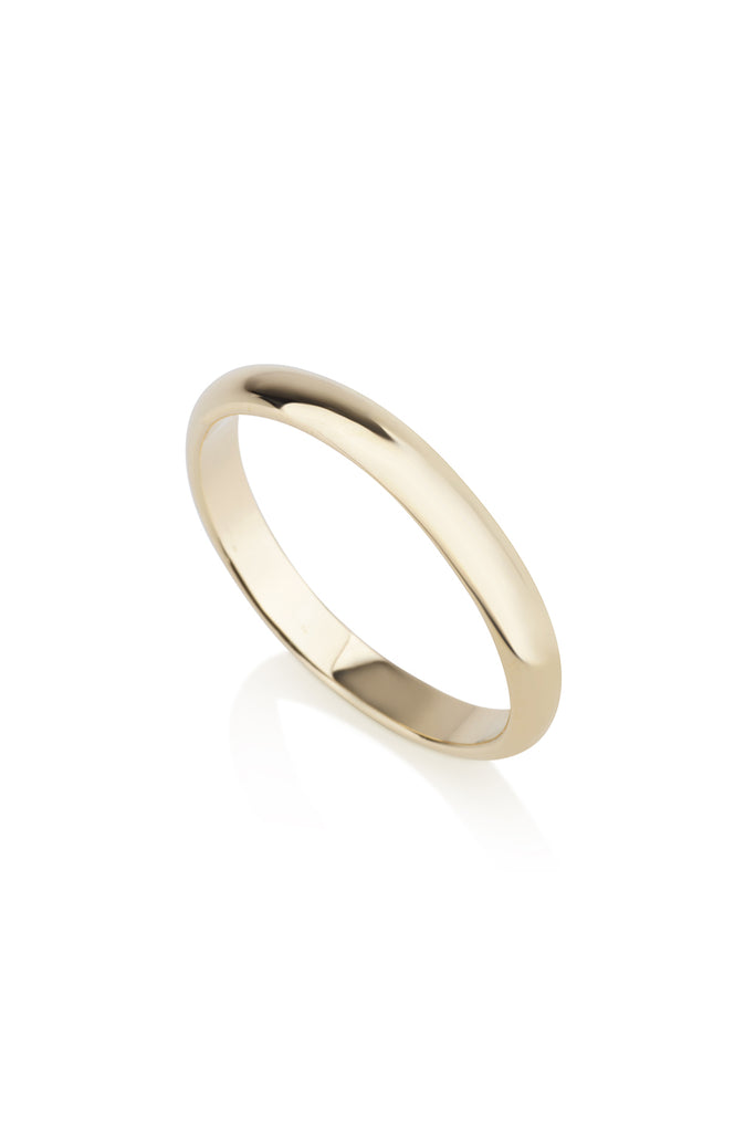 Noel Ring 3 mm half round band