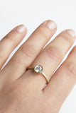 Rose Ring / Diamond Engagement Ring