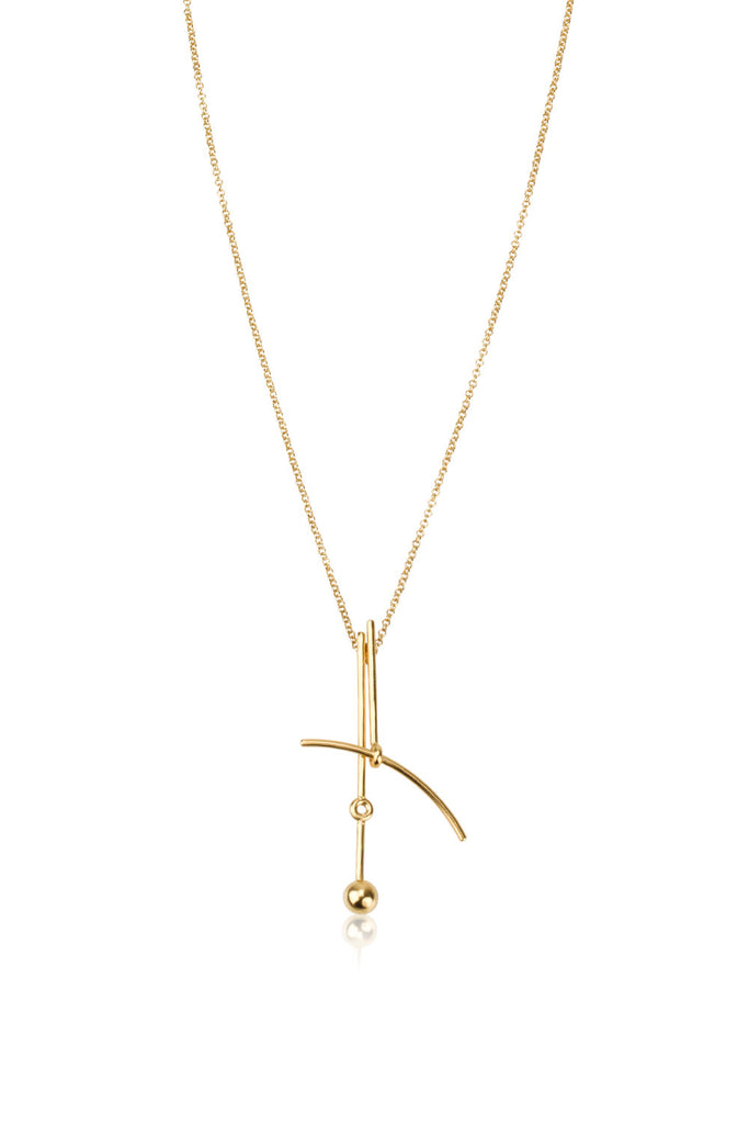 Ryan necklace / gold