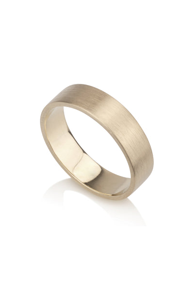 Adrian Ring Minimalist Wedding Band