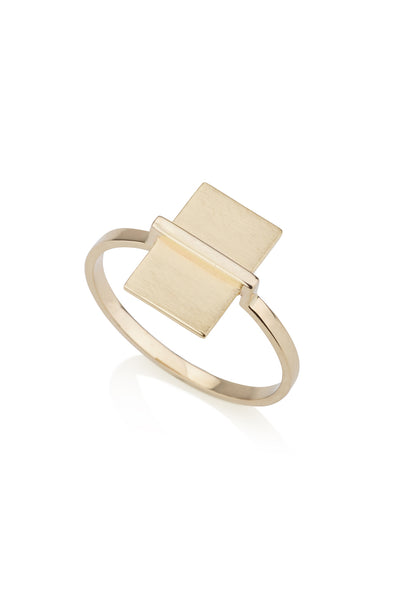 Arizona Ring Geometric Gold ring