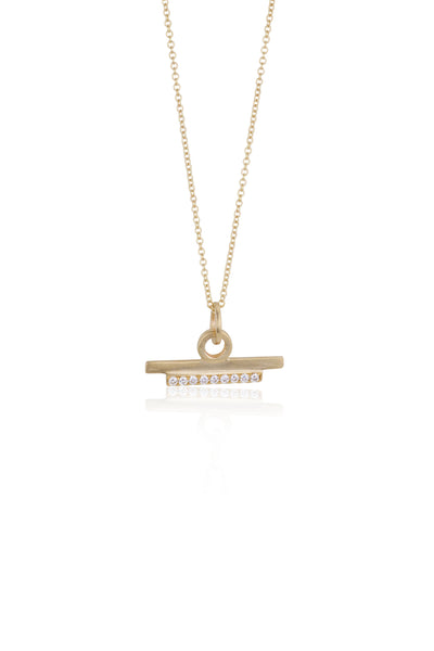 Juno Pave Diamond Necklace