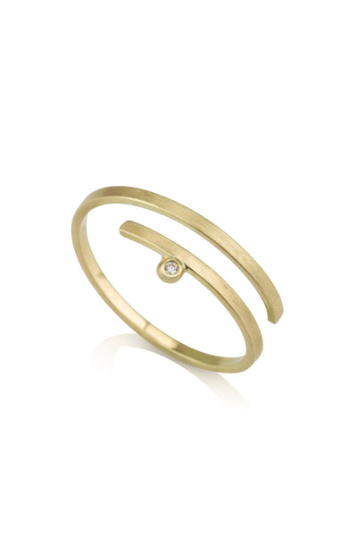 Kimora Ring / dainty diamond ring
