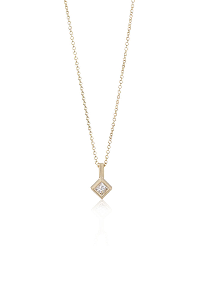 Nia princess cut diamonds necklace 25% OFF